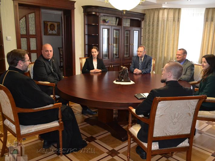 Глава УГКЦ обговорив з капеланами США функціонування капеланських служб у Європі