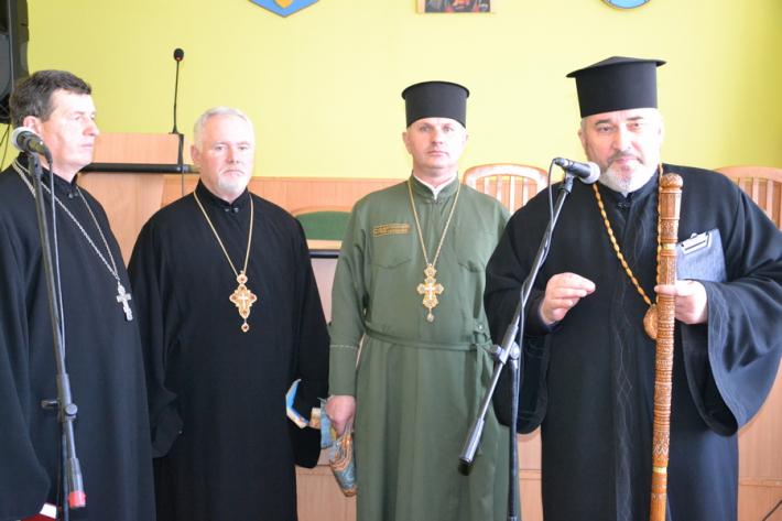 Єпископ УГКЦ привітав працівників карного розшуку зі 100-річчям структури