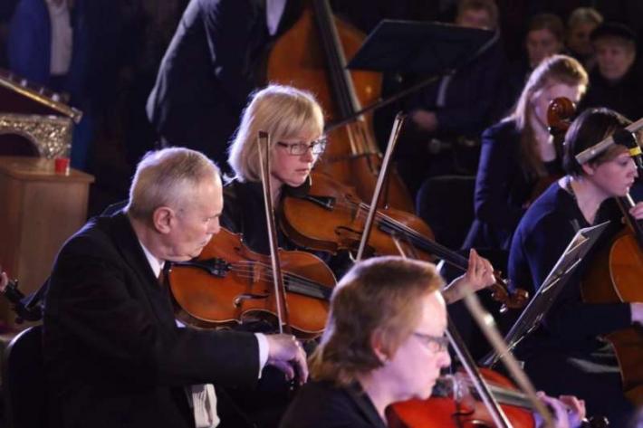 Оркестр Львівської філармоні виконає концерт-містерію «Страсті Христові»
