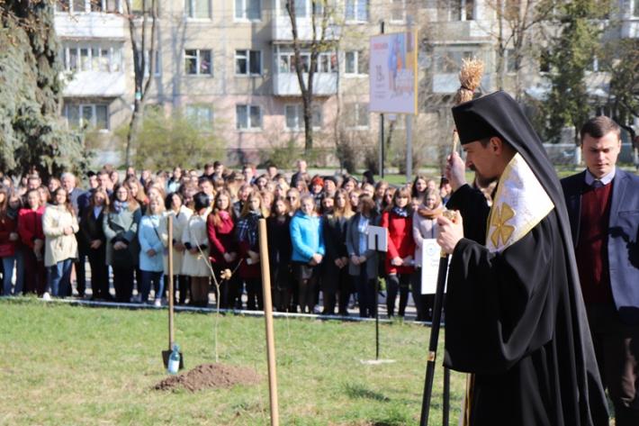 У Тернополі започаткували Біблійний сад і освятили пам'ятник Біблії