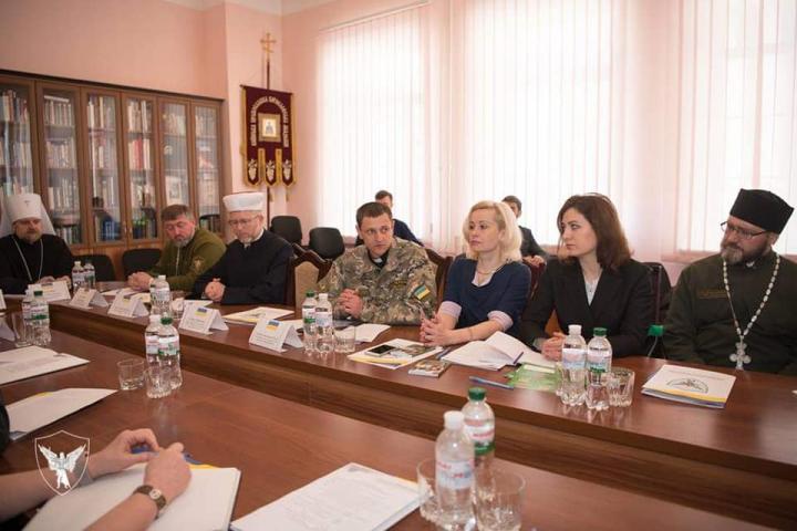 Мусульмани, християни і військові обговорили капеланство в умовах гібридної війни в Україні