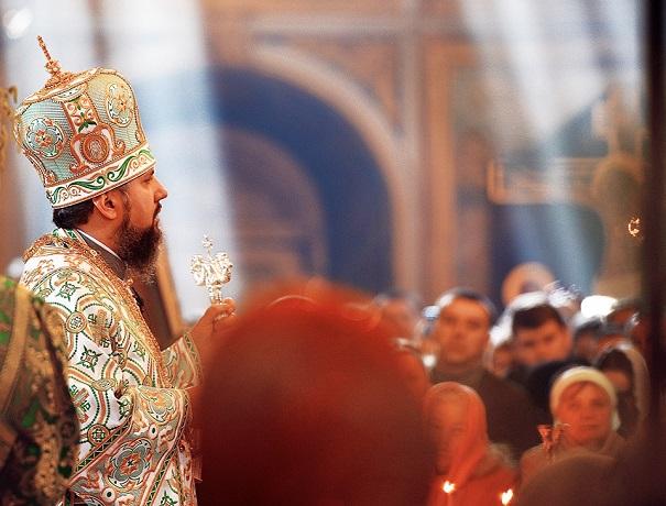 У Михайлівському Золотоверхому соборі почали служити літургії з сурдоперекладом