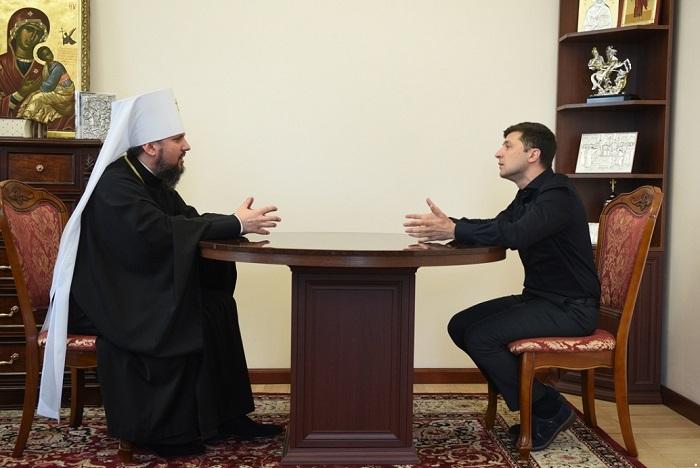 Зеленський провів зустрічі з предстоятелями українських церков