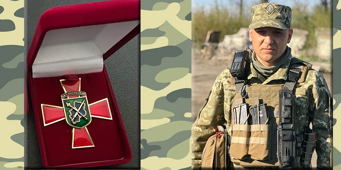 Офицер-иудей награжден высшей наградой Операции Объединенных Сил Украины