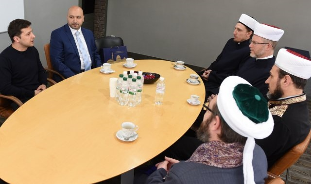 Новообраний президент України зустрівся з мусульманськими та іудейськими лідерами