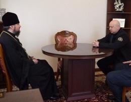 Секретар РНБО і глава ПЦУ обговорили впровадження в країні військового капеланства