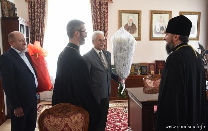 Глава ПЦУ зустрівся з представниками місцевої влади в Києві, лідером Радикальної партії та послом Канади