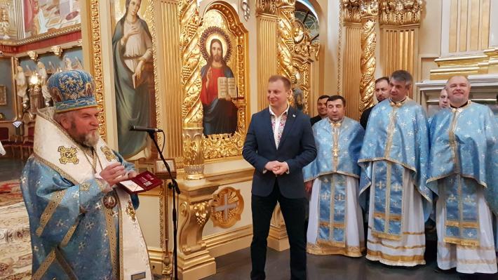 Митрополит і священик УГКЦ отримали високі державні нагороди