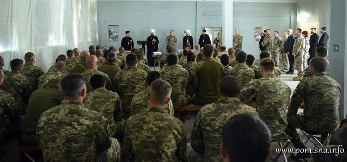 222 штатних військових капелана ПЦУ служать на сході України
