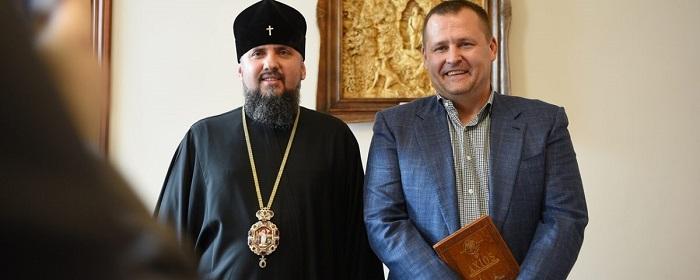 Глава ПЦУ обговорив з політиками і міським головою Дніпра ситуацію в країні