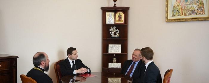 ПЦУ обговорює співпрацю з Українським Біблійним товариством