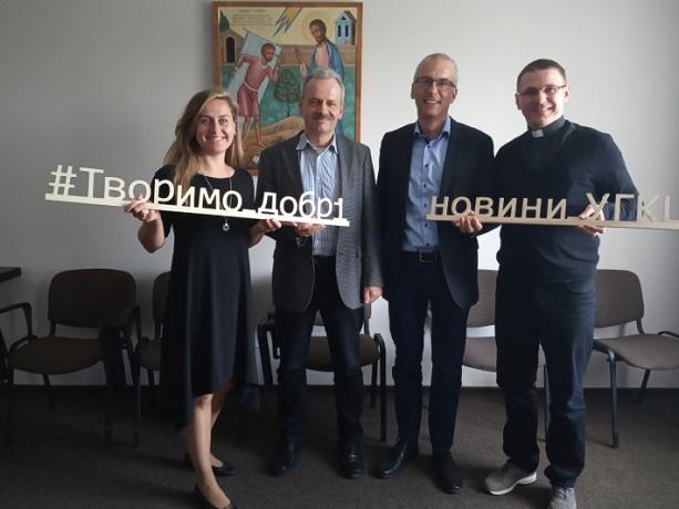 УГКЦ презентувала німецьким партнерам успішні благодійні проекти