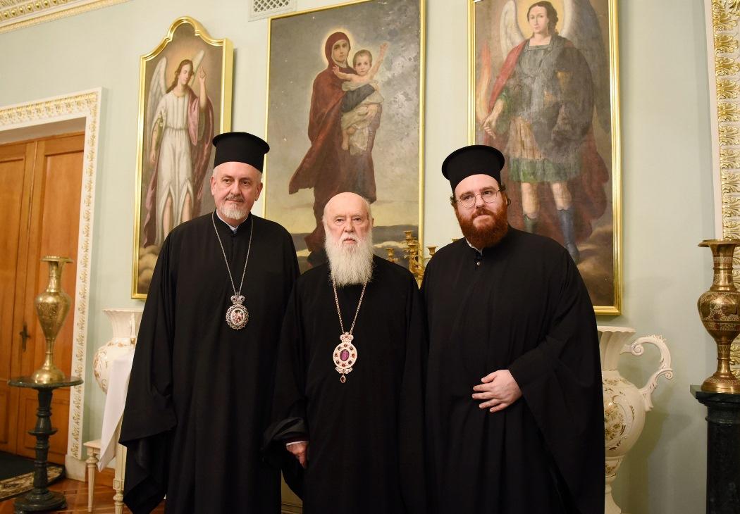 Філарет і представники Вселенського Патріархату обговорили церковні питання та процес визнання автокефалії