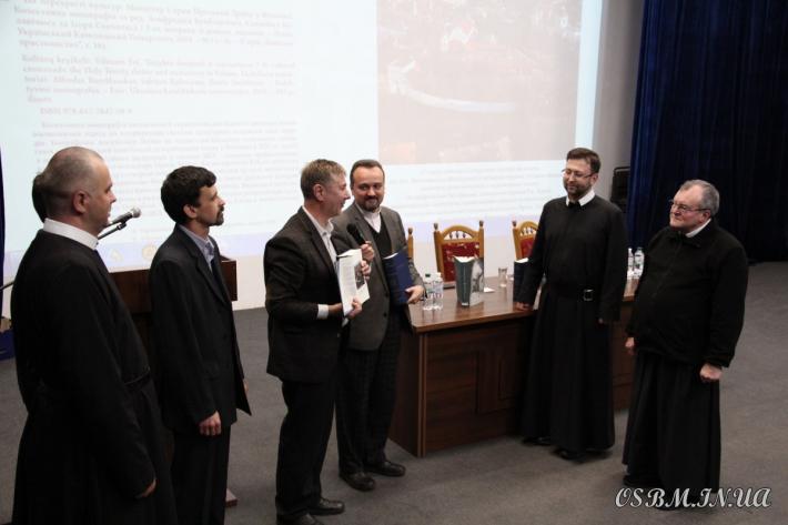 Науковці з України і Литви презентували монографію про Вільнюський монастир