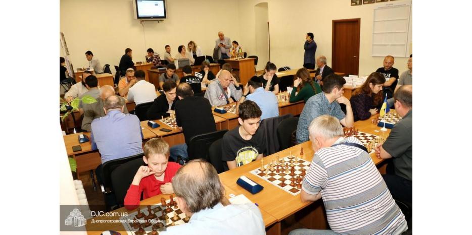 В Днипре состоялся шахматный турнир национальных общин города