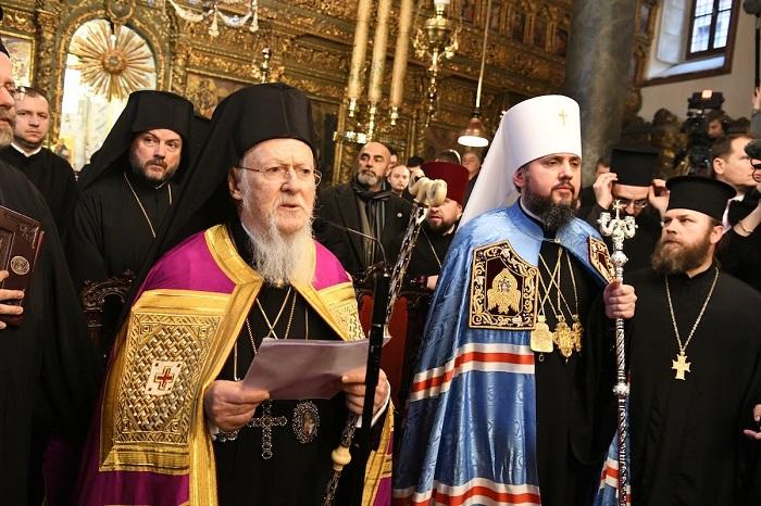 Патріарх Варфоломій: «Філарет більше не є київським патріархом»