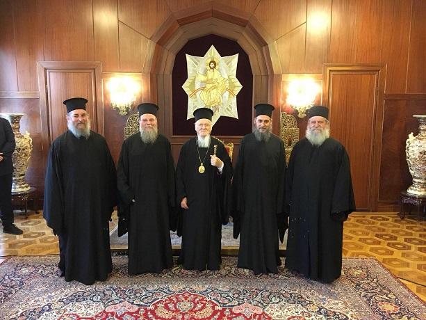 Перший поставлений в ПЦУ єпископ зустрівся з патріархом Варфоломієм