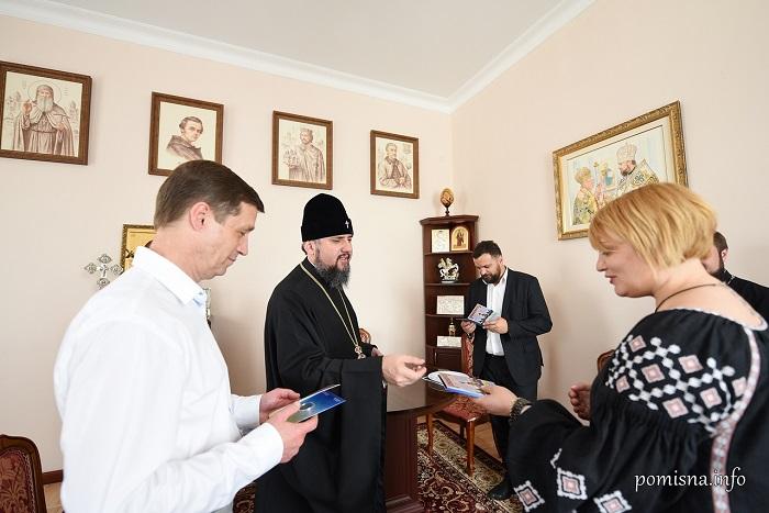 Глава ПЦУ зустрівся з кінематографістами, які знаматимуть фільм «Капелан»
