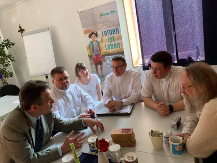 Патріарша курія УГКЦ переймає досвід Німеччини в управлінні людськими ресурсами