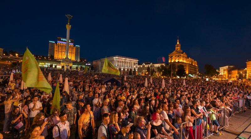 Фестиваль «Все вместе за семью» в Киеве посетили более 50 000 человек