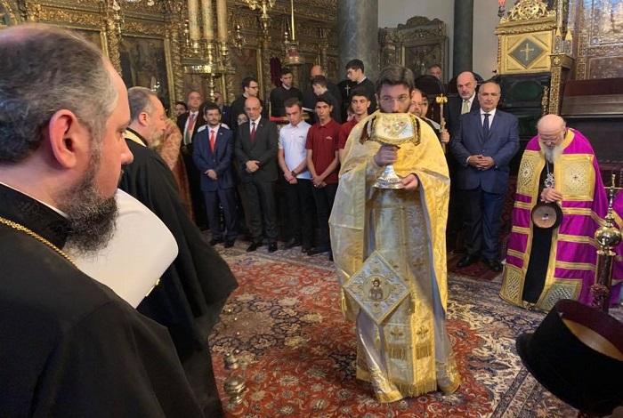 Митрополит Епіфаній молився разом з ієрархами Константинопольського, Олександрійського, Єрусалимського Патріархатів та Елладської Церкви