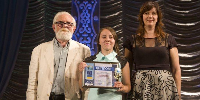Адвентистка перемогла в конкурсі Харківської обласної організації Національної спілки журналістів України