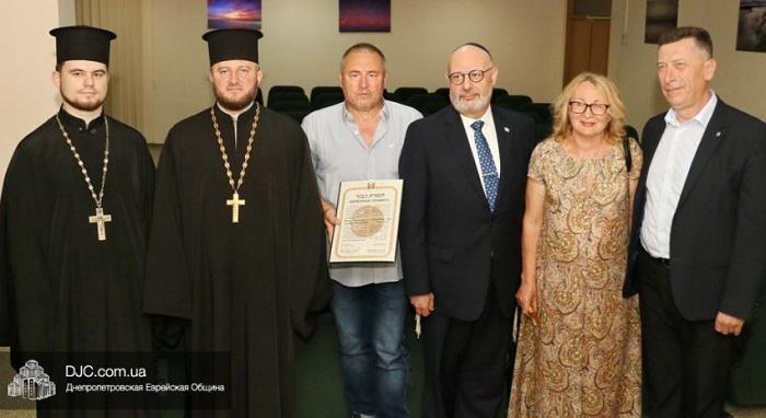 Посол Ізраїлю вручив нагороду «Праведник народів світу» в мерії Дніпра