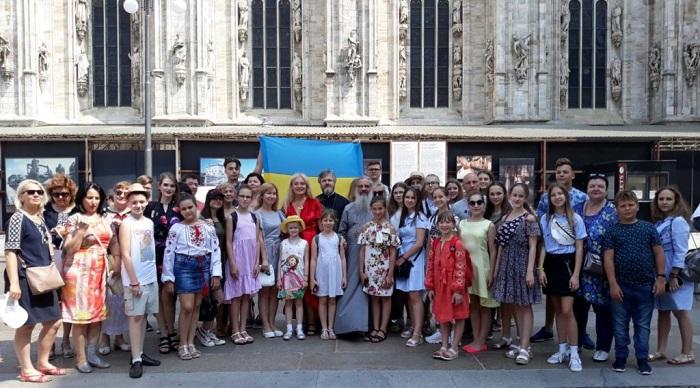 УПЦ (МП) провела в італійському храмі РПЦ концерт української пісні і танцю
