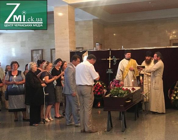Священики УПЦ (МП) звершили чин поховання черкаського журналіста