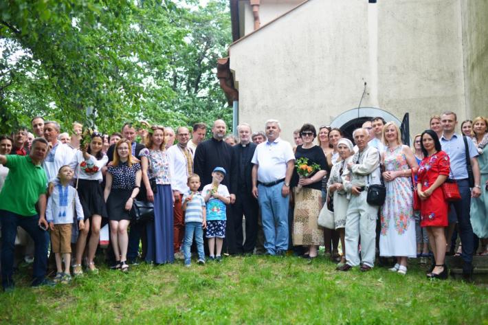 Українці Словаччини разом з послом України взяли участь у літургії українською мовою