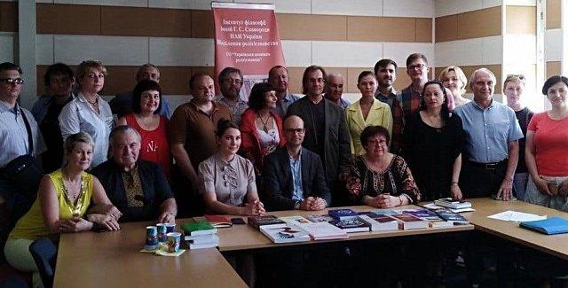 Генеральний секретар Європейської асоціації релігієзнавства прочитав у Києві публічні лекції