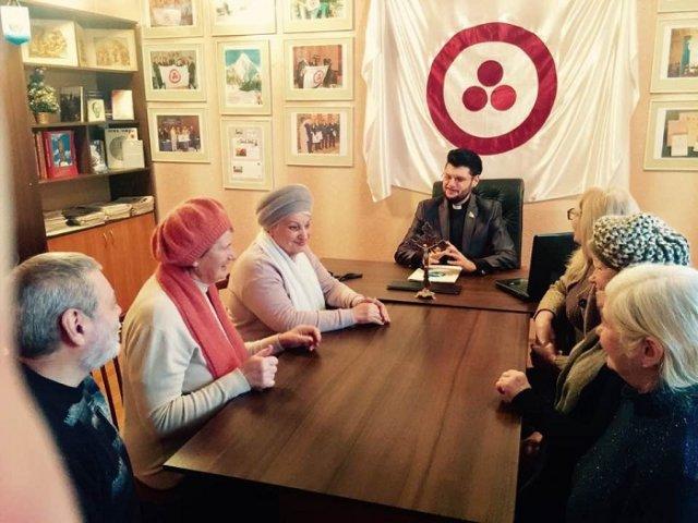 Ієромонах і секретар єпархії УПЦ КП відсвяткував День Росії
