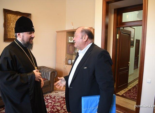 Митрополит Епіфаній обговорив питання визнання ПЦУ з послом в Австралії і начальником Управління у справах національностей та релігій КМДА
