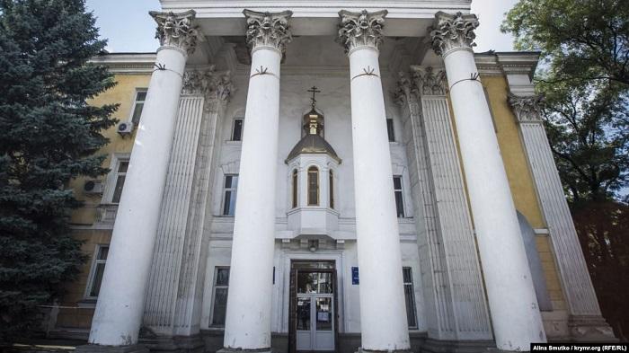 Російський суд відібрав кафедральний собор ПЦУ в Сімферополі