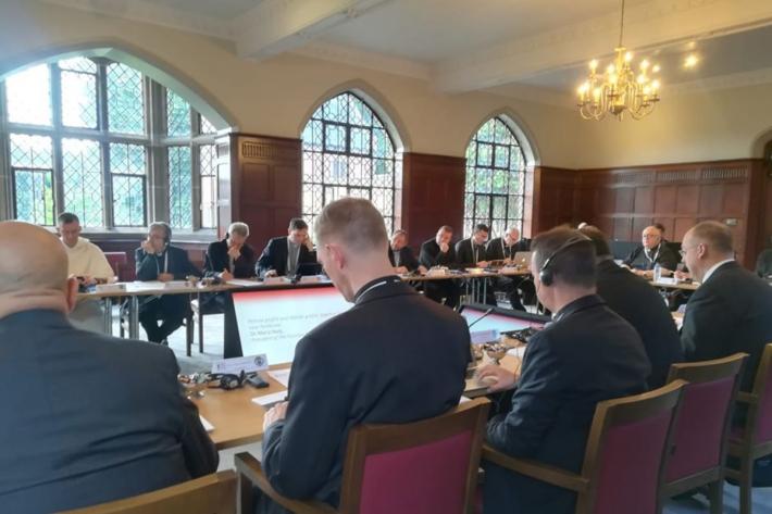 Єпископ УГКЦ виступив з доповіддю «Бути Церквою в часи війни» на зустрічі секретарів Єпископських Конференцій Європи