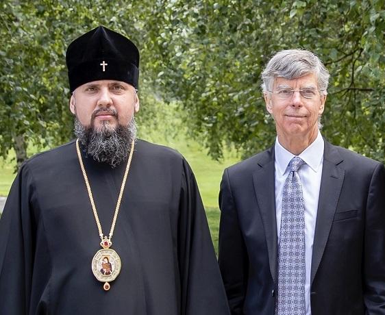Глава ПЦУ обговорив з тимчасовим повіреним у справах США в Україні питання релігійного життя