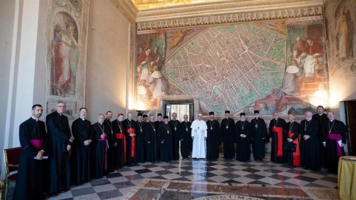 У Ватикані розпочалася зустріч папи Франциска і Римської курії з проводом УГКЦ