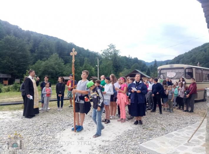 Греко-католики організували літній табір для 50 соціально незахищених дітей