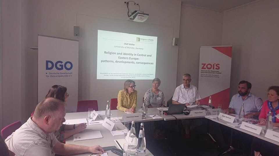 Представник УПЦ (МП) виступив у Берліні з доповіддю «Релігійна ідентичність в Україні з акцентом на Православ'ї»