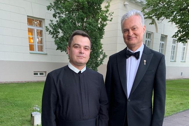 Священник УГКЦ відвідав інавгурацію новообраного президента Литви