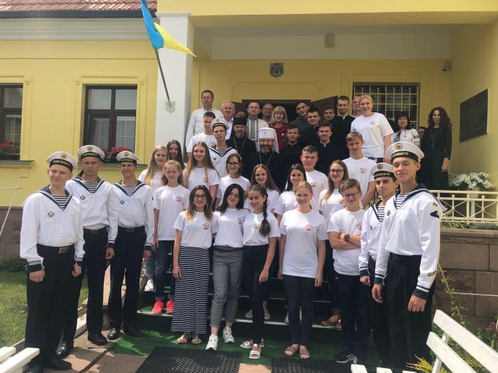 Глава УГКЦ відкрив п'яту благодійну школу англійської мови для дітей з родин учасників АТО, переселенців, малозабезпечених родин та семінаристів