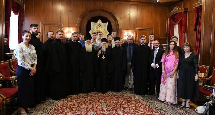 Вчителі та студенти духовних шкіл ПЦУ були прийняті Вселенським патріархом