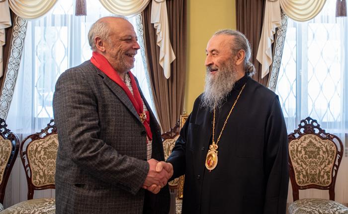 Спикер-самозванец УПЦ (МП) получил орден от митрополита Онуфрия