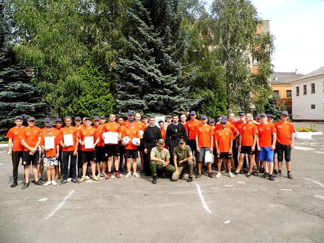Монахи й волонтери УГКЦ провели «Козацький гарт