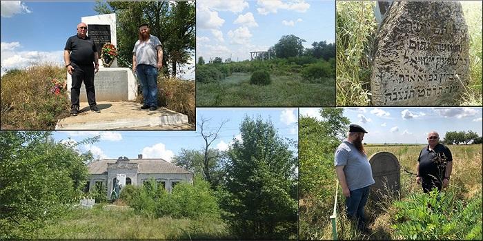 В Украине проходит религиозно-мемориальная экспедиция по местам еврейских захоронений