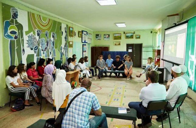 В Кременчуге обсудили межкультурную коммуникацию в детской среде