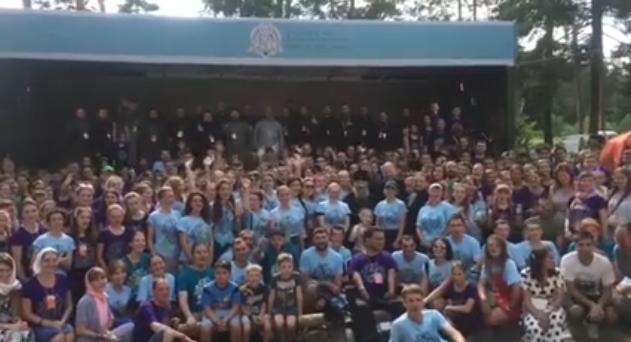 Митрополит Онуфрій відкрив всеукраїнський православний молодіжний фестиваль