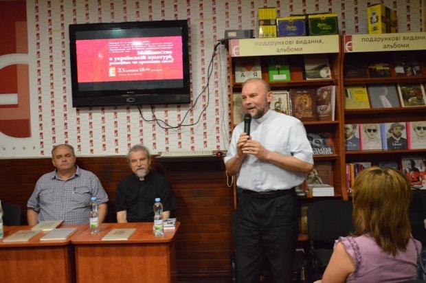 Збірку про греко-католицький Почаївський монастир презентували у Харкові