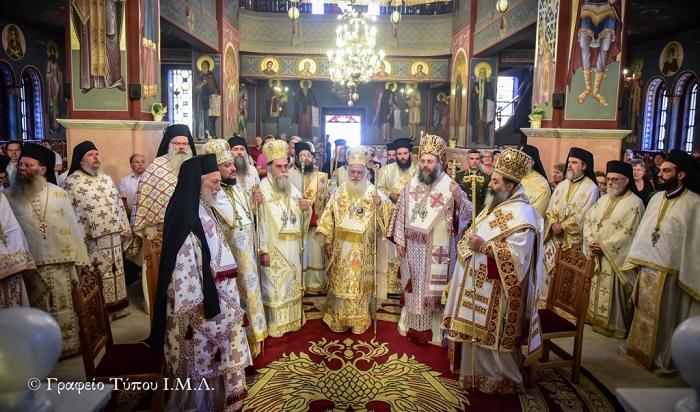 Архієпископ ПЦУ і митрополити Елладської Православної Церкви разом звершили святкову літургію