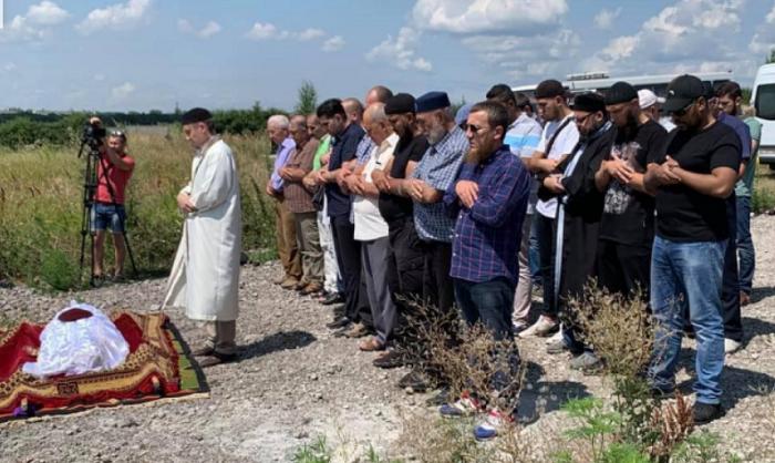 Загиблого під Луганськом бійця поховали на мусульманському кладовищі Дніпра